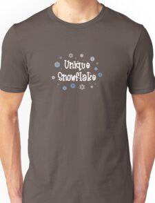 Unique Snowflake Unisex T-Shirt