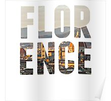 Florence typography Poster