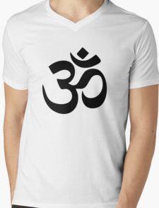Om Aum Symbol Mens V-Neck T-Shirt