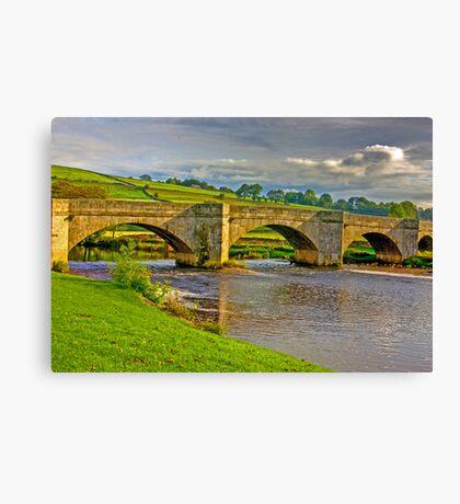 Packhorse Bridge - Burnsall Canvas Print