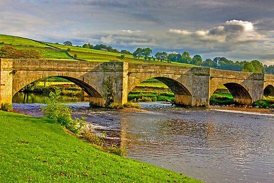 Packhorse Bridge - Burnsall by Trevor Kersley