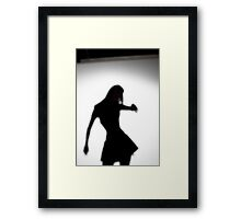 Meow In The Night 03 Framed Print