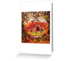 'Priory In Autumn' Greeting Card