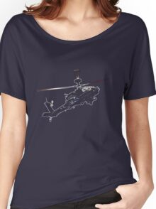 Apache Helicopter 2 Women's Relaxed Fit T-Shirt
