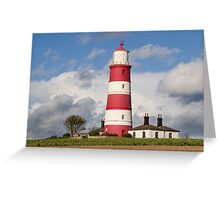 Happisburgh Lighthouse! Greeting Card