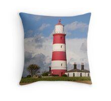 Happisburgh Lighthouse! Throw Pillow