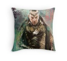 Lord Elrond Throw Pillow