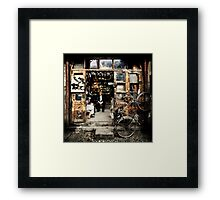 Meeting with the Boss #0201 Framed Print