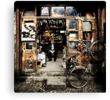Meeting with the Boss #0201 Canvas Print