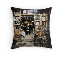 Meeting with the Boss #0201 Throw Pillow