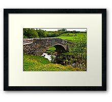 Packhorse Bridge - River Swale Framed Print