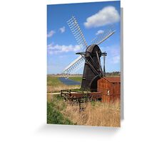 Herringfleet Mill Greeting Card
