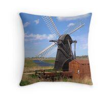 Herringfleet Mill Throw Pillow