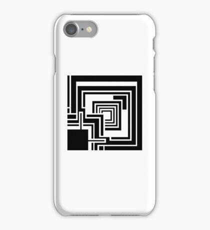 Textile Block Black Architecture Tshirt iPhone Case/Skin
