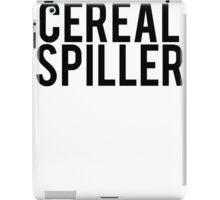 Cereal Spiller Not Killer iPad Case/Skin