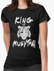 Sagat King of Muay Thai Re-Work Womens Fitted T-Shirt