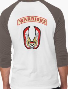 The Warriors - Back Patch  Men's Baseball ¾ T-Shirt