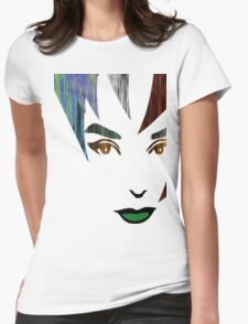 Face T-Shirt Womens Fitted T-Shirt