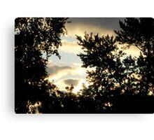 Sunrise in the Suburbs Canvas Print