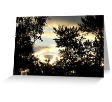 Sunrise in the Suburbs Greeting Card