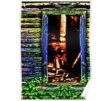 Hidden Window Fine Art Print Poster