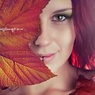 Autumn leaf by Moijra