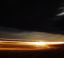 Harvest at Night by Logan Biesterfeldt