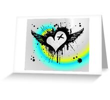 Cross My Heart. Greeting Card