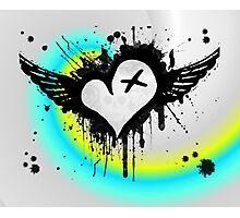 Cross My Heart. Photographic Print