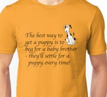 Deefa dog - The best way to get a puppy Unisex T-Shirt