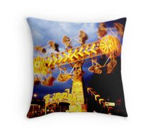 The Zipper Throw Pillow