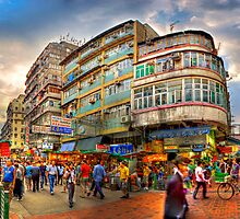 Kwelin Street - HDR Panoramic by HKart