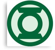 Green Lantern  Canvas Print