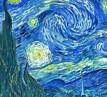Van Gogh - Starry Night by arialite