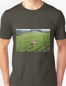 Rum watching over the wheat Unisex T-Shirt