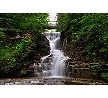 Ithaca's Buttermilk falls I Photographic Print