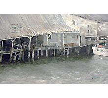 Tarpon Springs Fish Dock Photographic Print