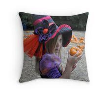 Witch Garden Throw Pillow