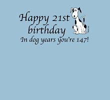 Deefa dog - Happy 21st birthday - dog years T-Shirt