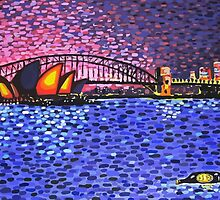 Sydney Harbour by Alan Hogan