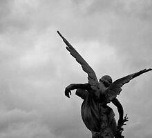 Fallen angel by Nayko