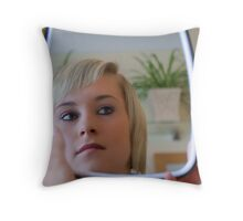 Jade 014 Throw Pillow