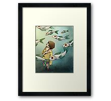 Fish Ghost Framed Print