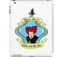 Witches Get Shit Done - Winnie iPad Case/Skin
