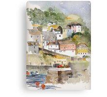 Mevagissey, Cornwall Canvas Print