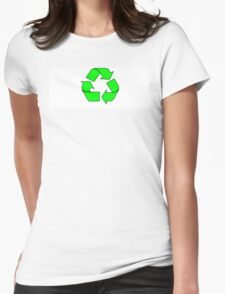 RECYCLE (1) Womens Fitted T-Shirt