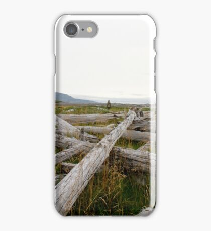 Kodiak driftwood iPhone Case/Skin