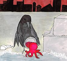 The Octopus in the Mirror by Renee Rigdon