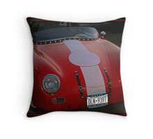 OLD PORSCHE Throw Pillow