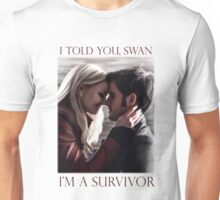 I'm a survivor Unisex T-Shirt